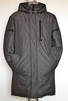 Модная длинная мужская куртка, пуховик Disenwor, 46, 48, 50, 52, 54, 56, фото 1