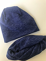 Комплект шапка и снуд (хомут)
