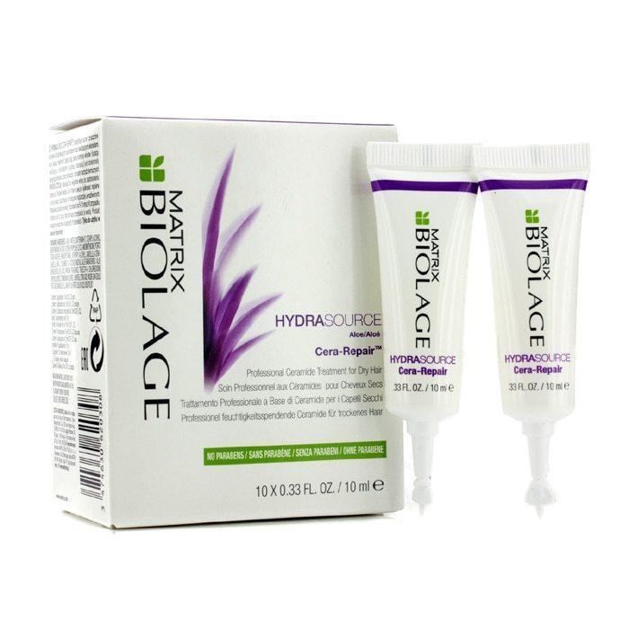 Matrix Biolage Интенсивная увлажняющая сыворотка для сухих волос Hydrasource,10х10мл