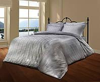 Комплект постельного белья Le Vele Royal Gri Spring жаккардовое 220-200 см