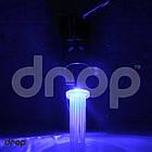 💧Водосберегающая насадка аэратор на кран c LED подсветкой DROP воды LED1P-22/24, расход 7 л/мин, универсальная резьба 22/24 мм, 1 цвет, фото 5