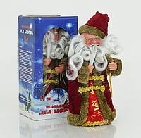 Дед Мороз музыкальный, озвучивание на русском, в коробке
