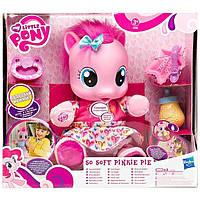 Интерактивная пони Пинки Пай Учимся ходить На русском языке My Little Pony Feature So Soft Pinkie Pie Language