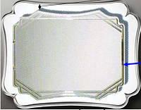 Зеркало 1200*1000 мм двойное с зеленым полотном