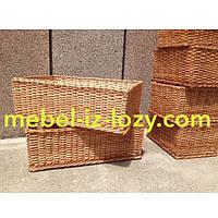 Плетеные лотки для хлеба и продуктов 50*30 с высотой борта 25 см