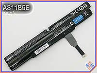 Батарея ACER AS11A5E,  AS11B5E,  AS11A3E (14.8V 6000mAh) ORIGINAL. P/N: AS11B5E BT.00805.018