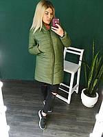 Пальто зимнее женское на синтипоне + подкладка овчина