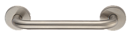 Ручка-скоба на розетке, нерж.  MVM S 101-200 SS