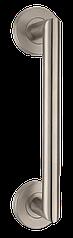 Ручка-скоба на розетке, нерж.  MVM S 102-200 SS