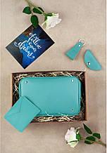 Очаровательный подарочный набор аксессуаров DropBag BlankNote BN-set-access-20-tiffany голубой