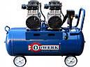 2-х цилиндровый безмасляный компрессор на 90 литров Odwerk TOF-1190, фото 2