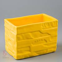 Керамический вазон (14*9*10 см)