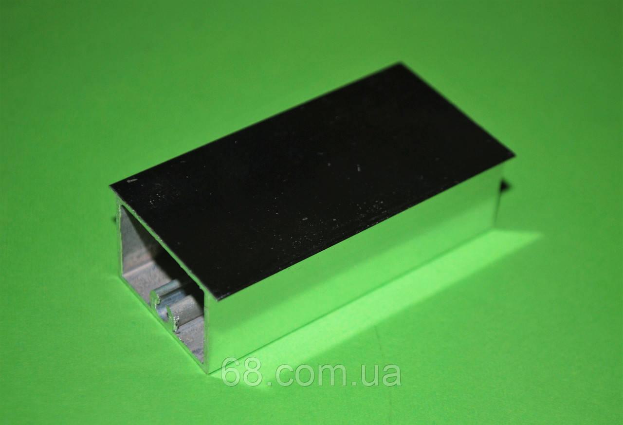 """Профиль """"Блеск"""" разд.30мм под плиту 18мм для раздвижных систем 2400мм"""