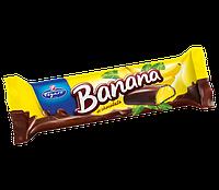 Шоколадный батончик (конфета) Banana Figaro с банановой начинкой Словакия 25г, фото 1