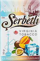 Табак для кальяна Serbetli Ice Passion Fruit Mango (Щербетли Ледяная Маракуйя с Манго)