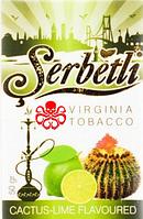 Табак для кальяна SerbetliCactus Lime (Щербетли Кактус Лайм)