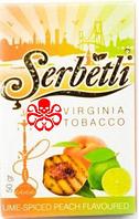 Табак для кальяна Serbetli Lime Spiced Peach (Лайм и Персик со специями)