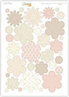 Высечка бумажная для скрапбукинга А4 VV 015 Lesia Zgharda