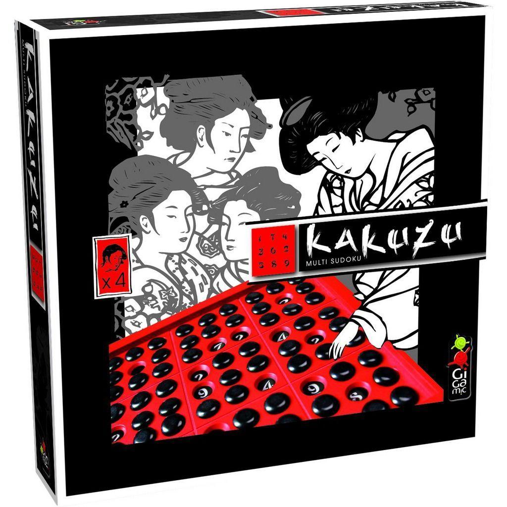 Gіgamіc настільна гра Kakuzu [8+ років] [1-4 гравця] Какузо судоку (логічна)
