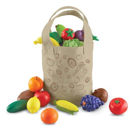 Набор овощей и фруктов в мешке Learning Resources