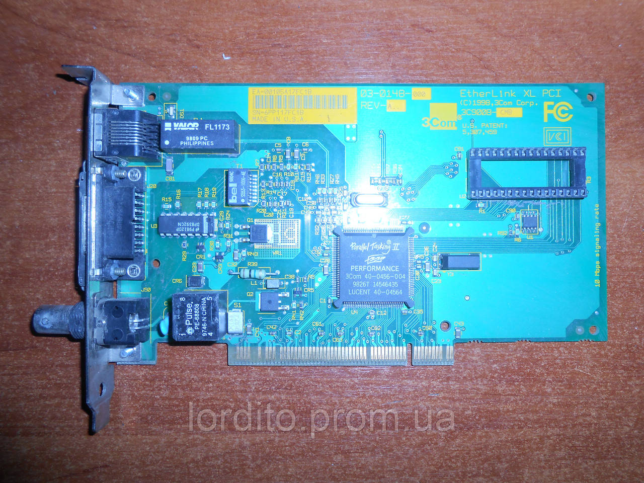 ETHERLINK XL PCI 3C900B DRIVER PC