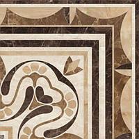 Декор Golden Tile Petrarca Chateau Corner М91650  400x400 мм бежевый N60115341