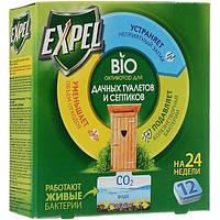 Биоактиватор для дачных туалетов и септиков Expel 12 табл