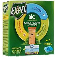 Биоактиватор для дачных туалетов и септиков Expel 4 табл