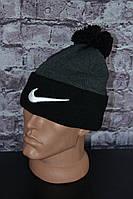 """Шапка мужская """"Nike"""" осень-зима"""