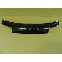 Дефлектор капота (мухобойка) Fiat Punto 2 тип 188 (фиат пунто 2 1999г-2007г)