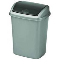 Ведро для мусора Curver Dominik 10 л гранитный