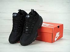 "Nike Air Max 95 Sneakerboot ""Triple Black"" 2017. ТОП Реплика ААА класса., фото 3"