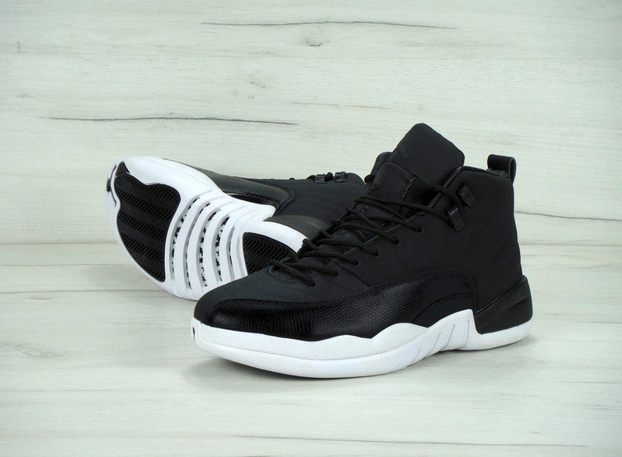 0e05771fc0ae5f ... Мужские баскетбольные кроссовки Nike Air Jordan 12 XII Retro Black Nyl  3 ...