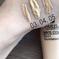 Матирующая тональная крем-пудра Matte Color Liquid Foundation Parisa 5