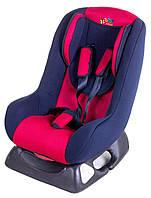 Автокресло Baby Club синий-красный