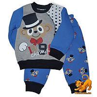 Зимний костюм  на флисе, для детей 1-3 года (3 ед.в уп.)