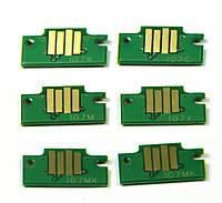 Чипы для картриджей PFI-107 для Canon iPF670/iPF770 (набор 6 шт.)