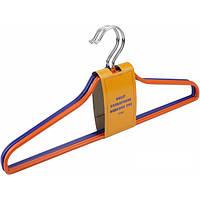 Набор вешалок PVC 8234R20 цветные 4 шт