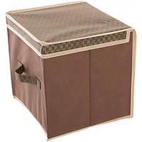Органайзер для одежды Brown 30x30x30 см