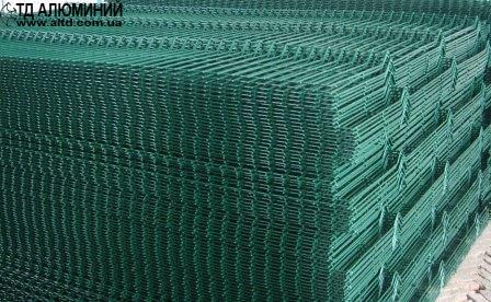 Забор из сварной сетки с полимерным покрытием 2х2,5 СТАНДАРТ