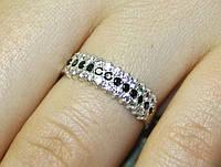 Кольцо серебро 925 проба 19 размер АРТ1130, фото 1