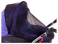 Москитная Сетка Qvatro для универсальной коляски черная