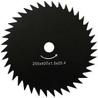 Нож для мотокос Forte 255x25.4x1.6 мм 40Т N10109333