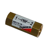 Клапан обратный Camozzi VNR-210-1/8 N20206505