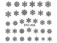 Слайдер  для ногтей 426 Новогодний дизайн