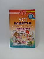 Основа ДНЗв Усі заняття в групі раннього віку (3 рік) Українське дошкілля)