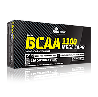 BCAA аминокислоты Olimp Labs BCAA Mega Caps 1100 (120 капс)