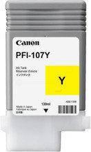 Картридж Canon PFI-107Y для iPF670/770, Yellow, 130 мл