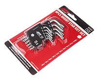 Набор ключей TORX Т10-Т50 угловых 9 предметов JTC 5354