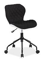 Компьютерное кресло RINO Signal черный/белый